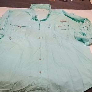Columbia PFG fishing gear shirt